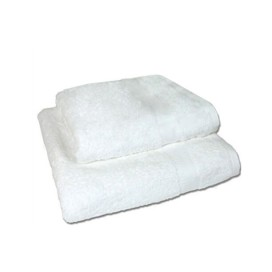 Set of 2 - White - Towel Set